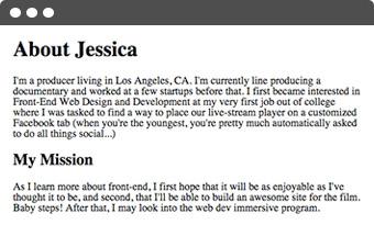 Jessica Chou's story