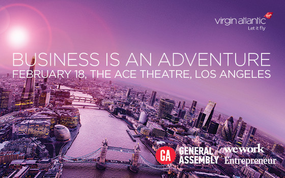 Win A Ticket to See Richard Branson Live