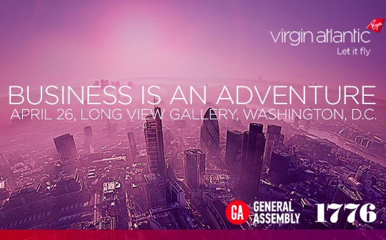 Business is an Adventure Series: Hear from Sir Richard Branson and DC's Brightest Business Minds