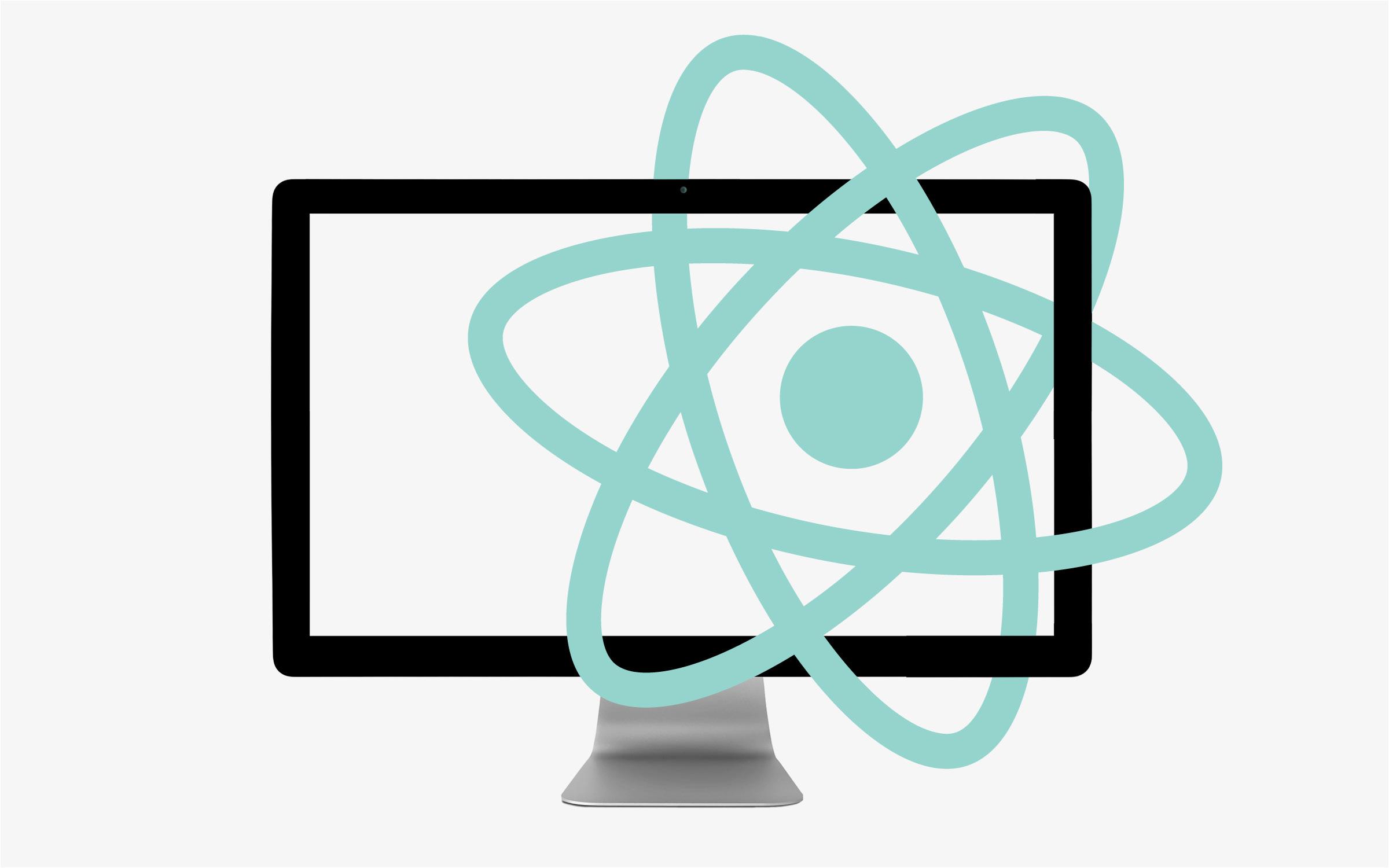 Code react logo desktop