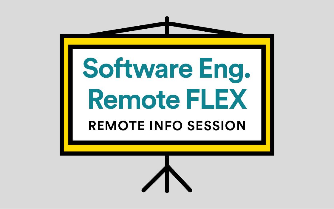 Software Engineering Immersive Remote Flex Info Session Online