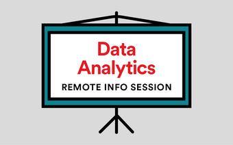 Data Analytics Remote (Online) Info Session Livestream