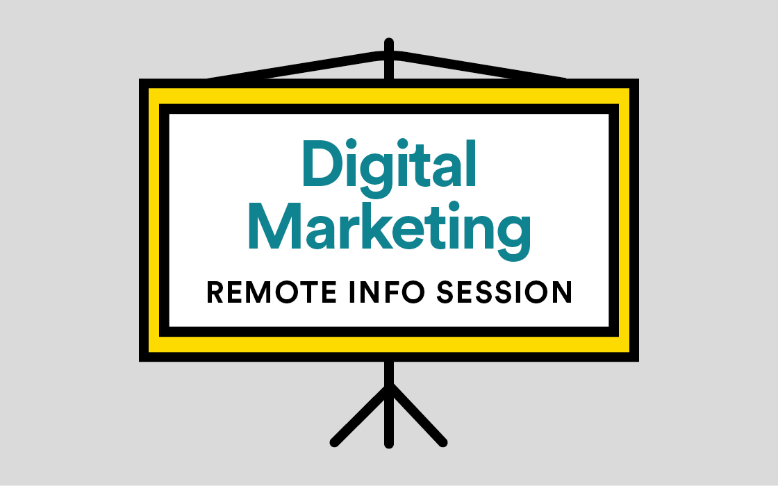 Digital Marketing Remote (Online) Info Session Livestream