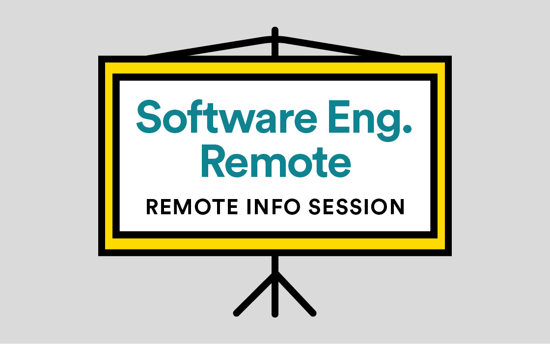 Software Engineering Immersive Info Session Remote Livestream