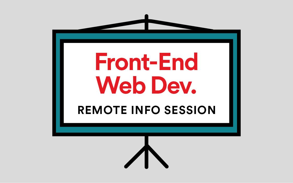 Front-End Web Development Info Session Livestream