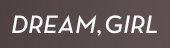 Dream, Girl logo
