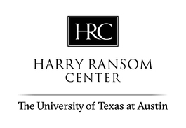The Harry Ransom Center at The University of Texas at Austin logo