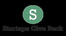 Startups Give Back logo
