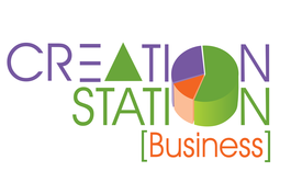 Creation Station Business at Broward County Library logo