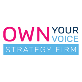 Own Your Voice Strategy Firm logo