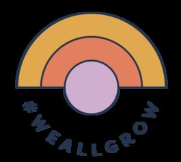 #WEALLGROW LATINA logo