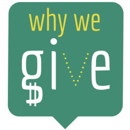 Why We Give logo