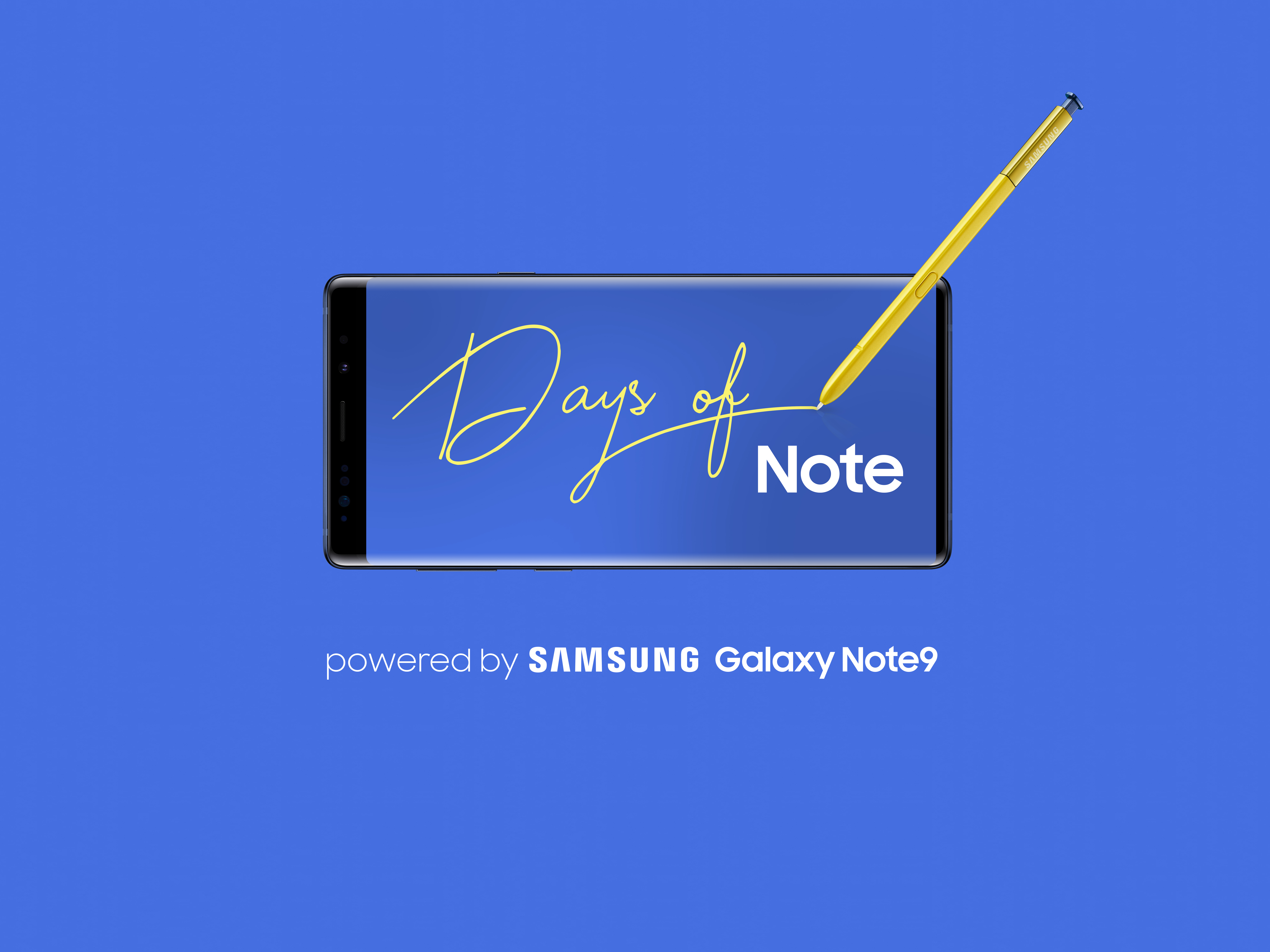 Days of Note: From Problem to Prototype