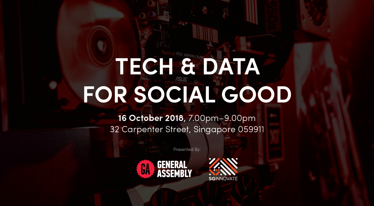Tech and Data for Social Good
