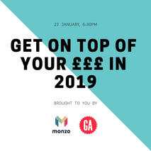 Get on top of your £££ in 2019 with Monzo
