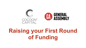 GA x Cocoon Capital Present: Raising your First Round