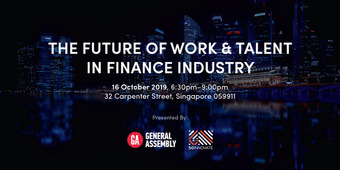 The Future of Work and Talent in Finance Industry