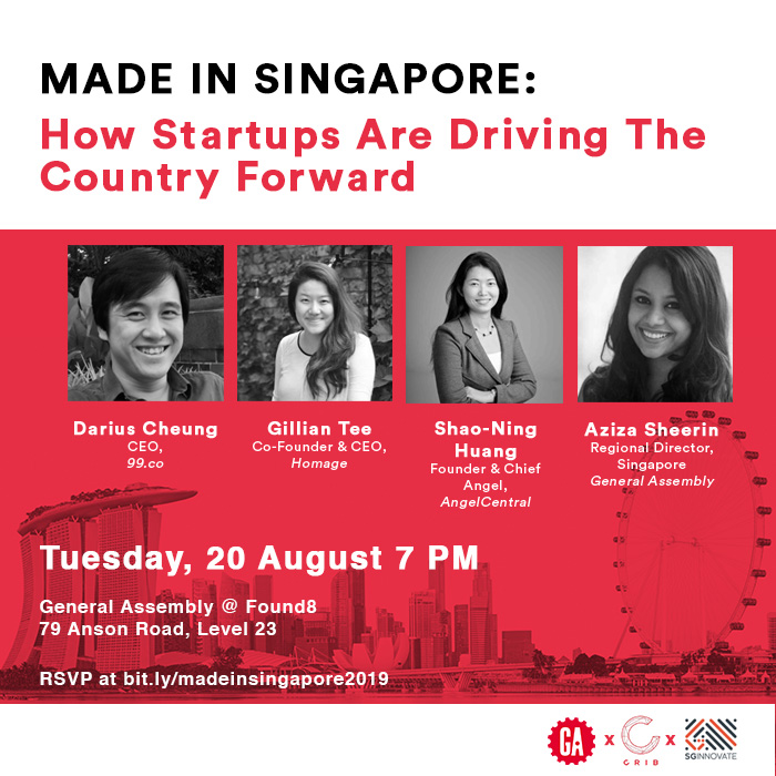 Made In Singapore:  How Startups  Are Driving The Country Forward