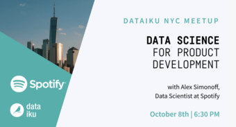 Data Science for Product Development (feat. Spotify)