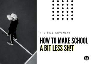 How to Make School a Bit Less Sh!t