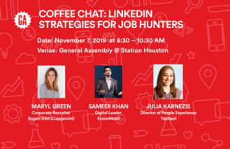 Coffee Chat:  LinkedIn Strategies For Job Hunters