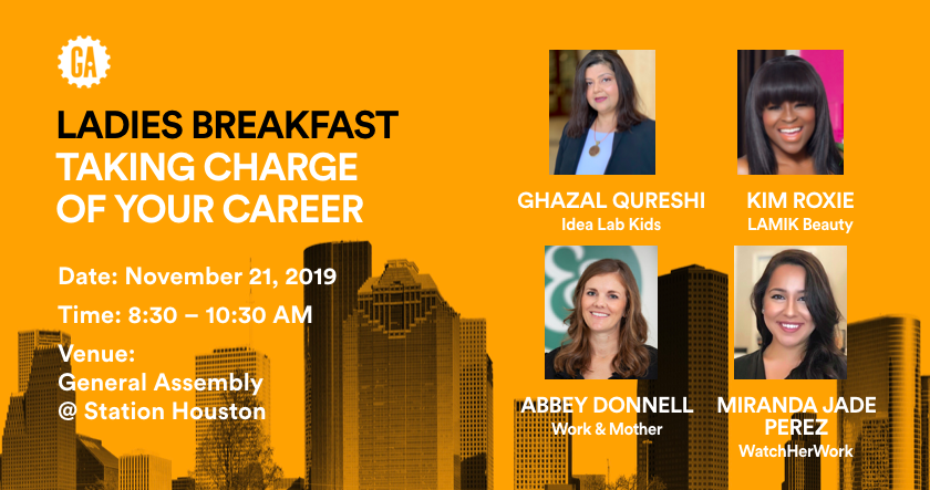 Ladies Breakfast | Taking Charge Of Your Career