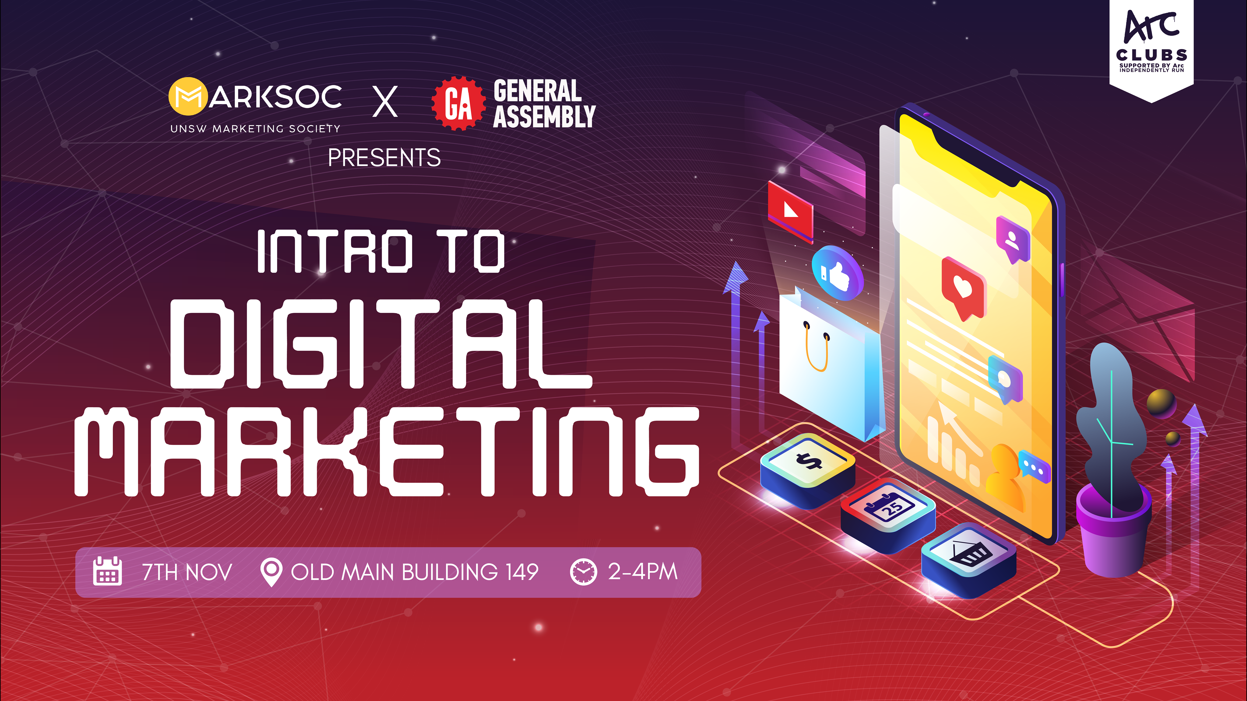 GA x UNSW Marksoc - Intro to Digital Marketing