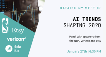 AI Trends Shaping 2020 w/ the NBA, Verizon and Etsy