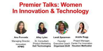 Premier Talks: Women in Innovation & Technology