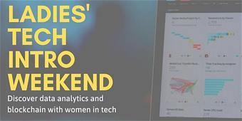 Discover Data Analytics & Blockchain on International Women's Day