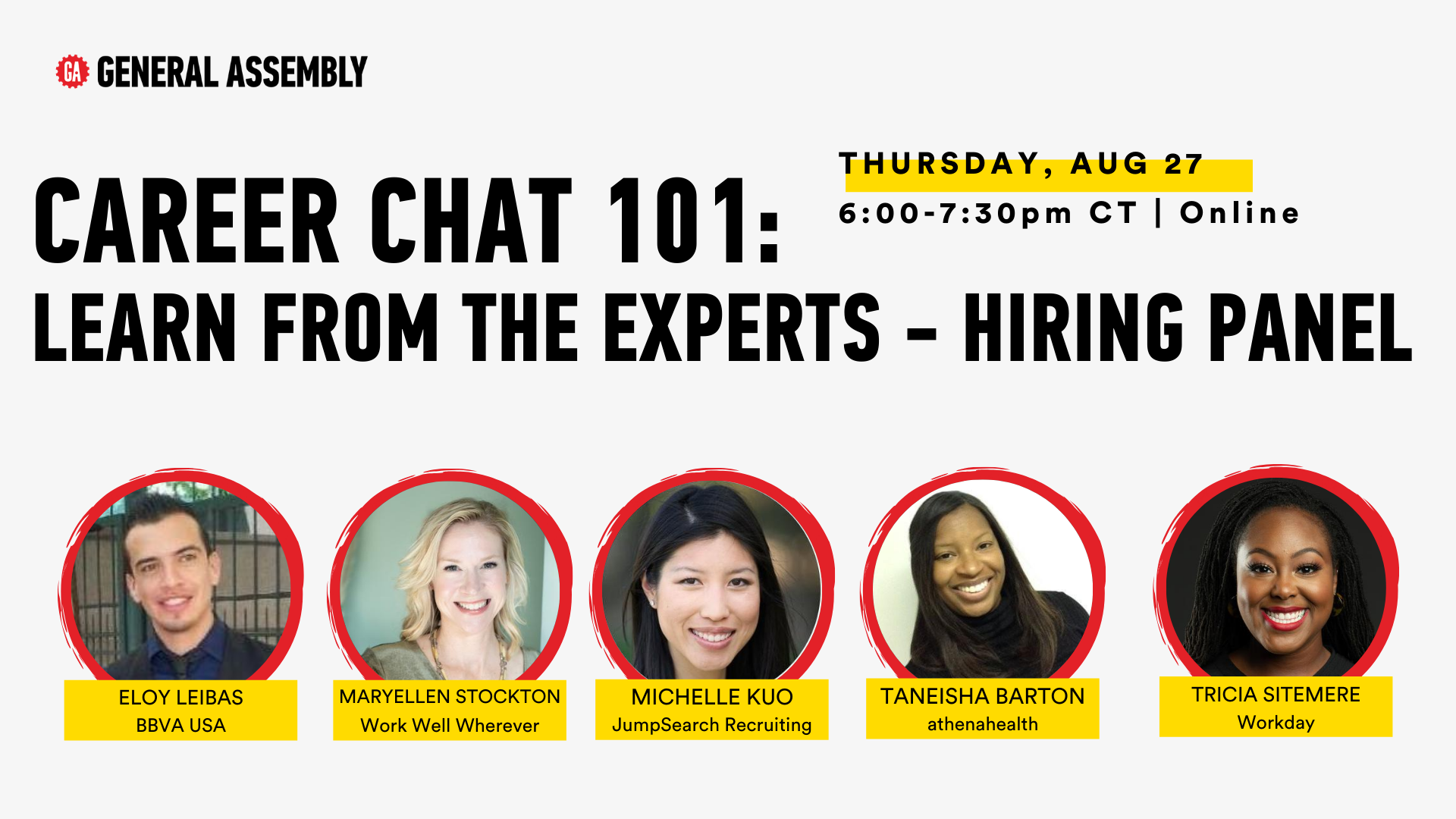 Career Chat 101: Learn from the Experts - Hiring Panel