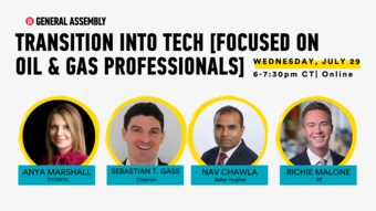 Transition Into Tech [Focused on Oil & Gas professionals]