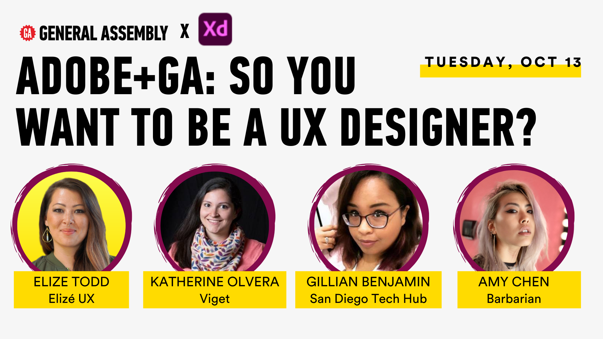 Adobe+GA Present: So you want to be a UX Designer?