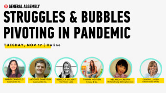 Struggles & Bubbles:  Pivoting in Pandemic