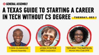 A Texas Guide to Starting a Career in Tech without a CS degree
