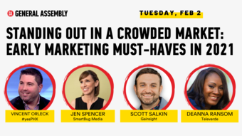 Standing Out in a Crowded Market: Early Marketing Must-Haves  in 2021