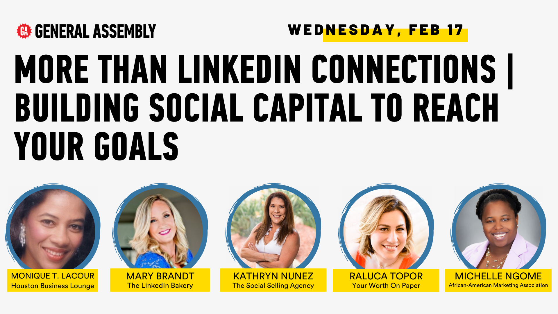 More Than LinkedIn Connections   Building Social Capital to Reach Your Goals