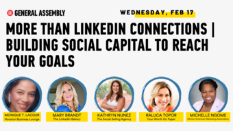 More Than LinkedIn Connections | Building Social Capital to Reach Your Goals