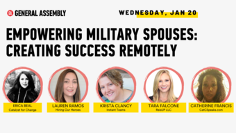 Empowering Military Spouses: Creating Success Remotely