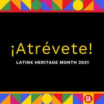 ¡Atrévete! I Latinx Heritage Month at GA