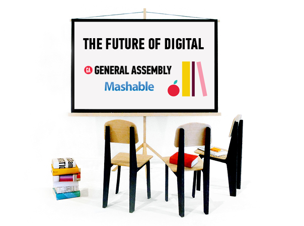 Mashable + General Assembly Present: Future of Digital, A Festival of Learning