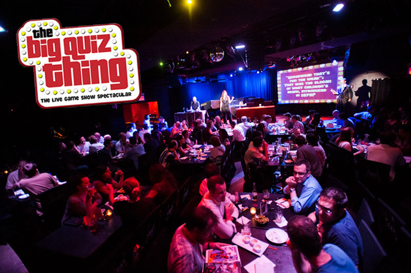 Trivia Night with The Big Quiz Thing