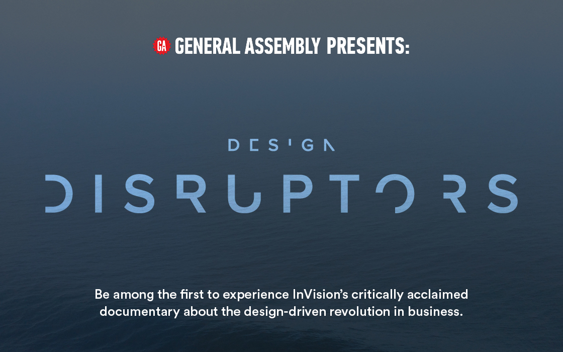 """Design Disruptors"" Film Screening"