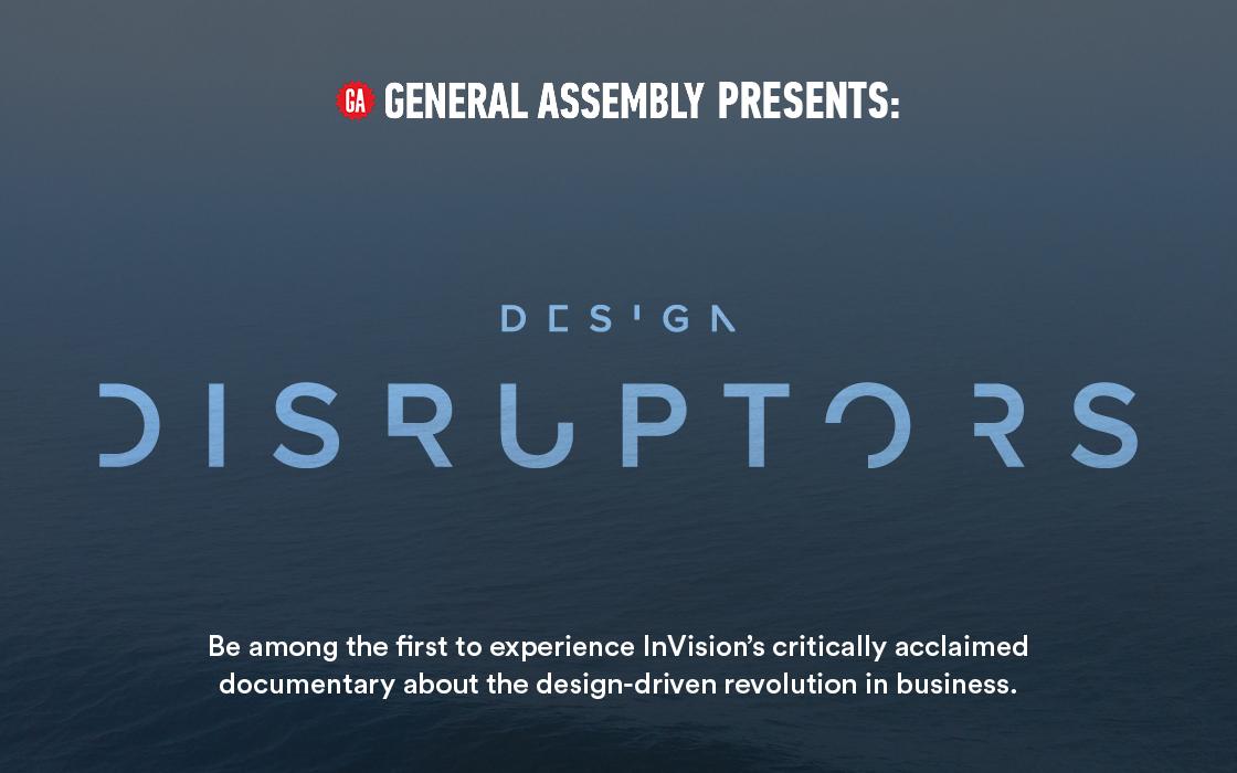 """Design Disruptors"" Film Screening"