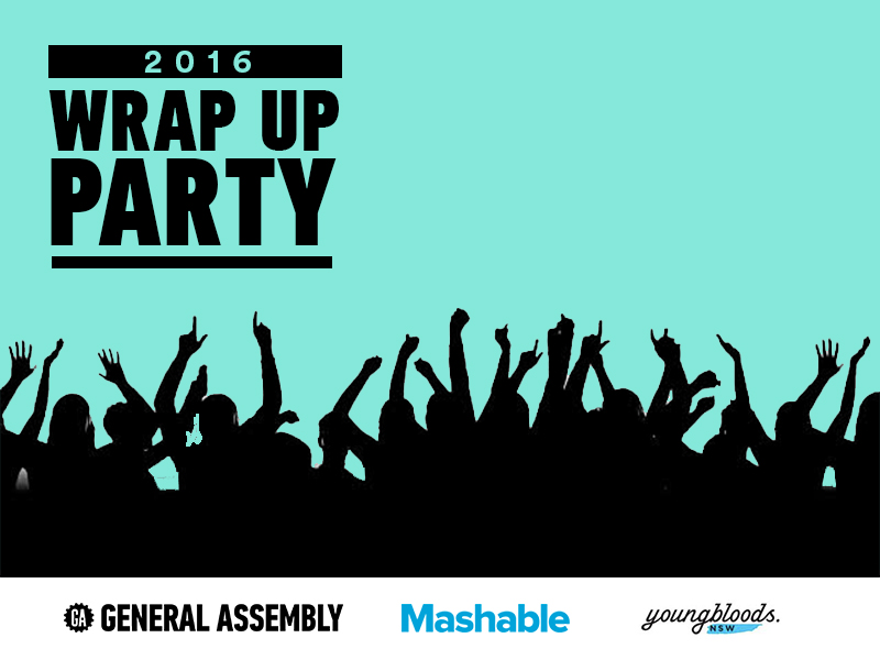 GA + Mashable Present: The 2016 Wrap Up Party