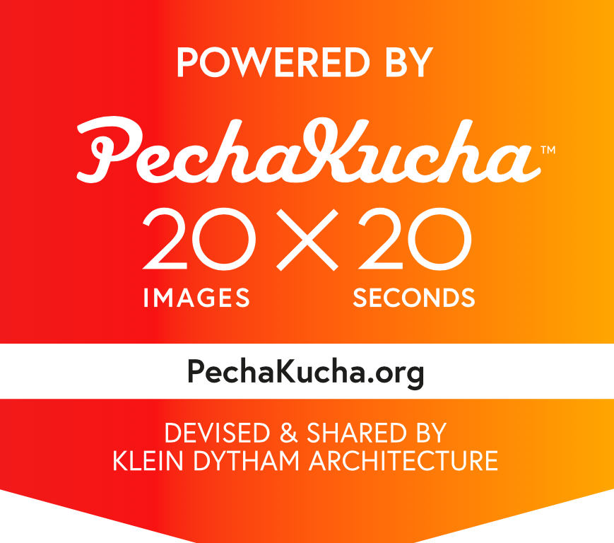Typography 20x20, Powered by PechaKucha