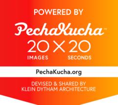 Typography 20x20, Powered by PechaKucha