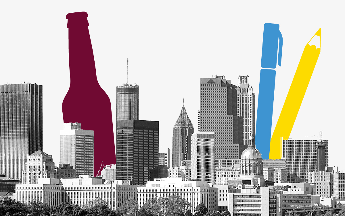 Designing Your Atlanta: Drink and Draw