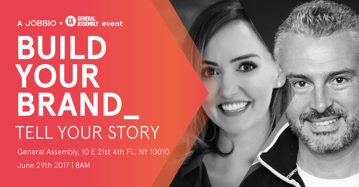 Build your Brand, Tell your Story