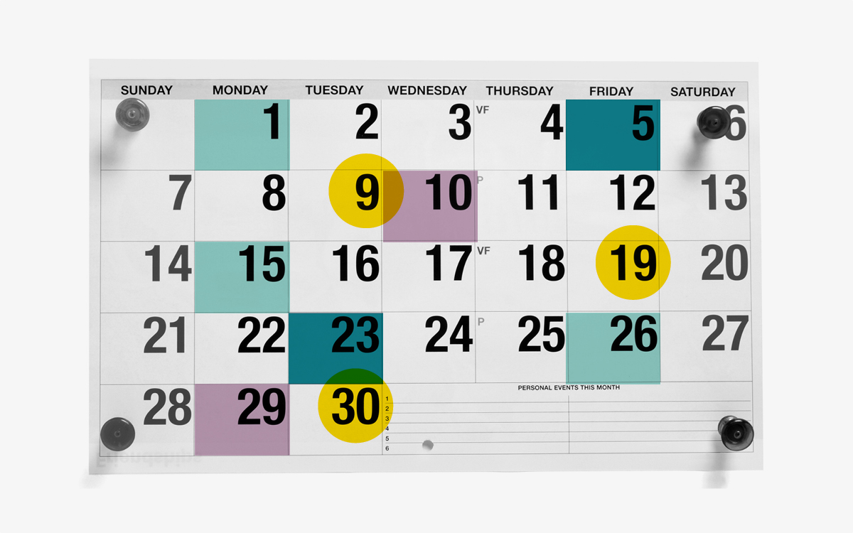 Create a calendar for consistent content marketing